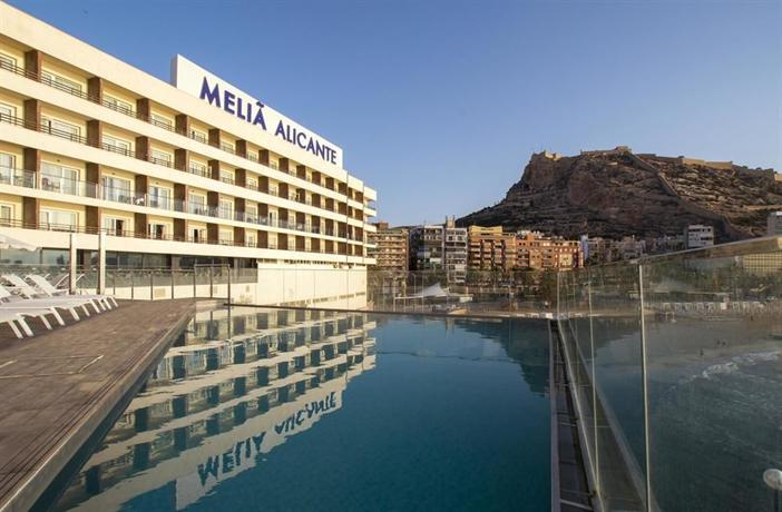 Melia alicante compare deals for Hotel diseno alicante