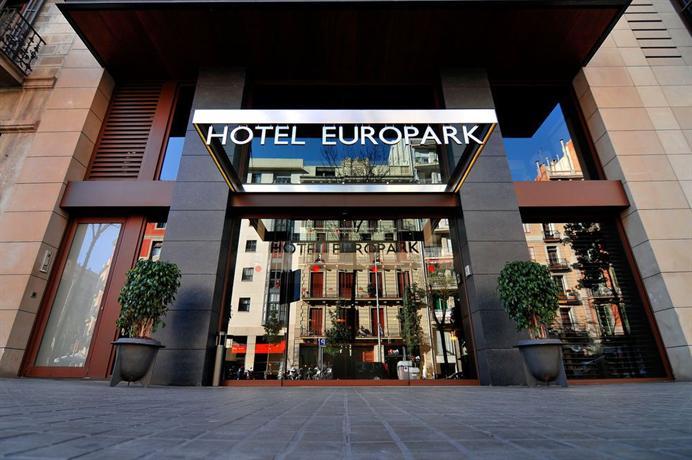 Europark Hotel Barcelona Отель Еьюропарк Барселона