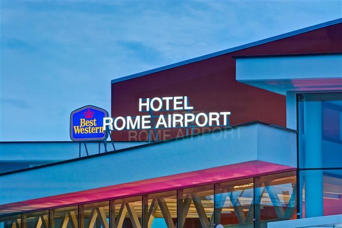 best western hotel rome airport fiumicino compare deals. Black Bedroom Furniture Sets. Home Design Ideas