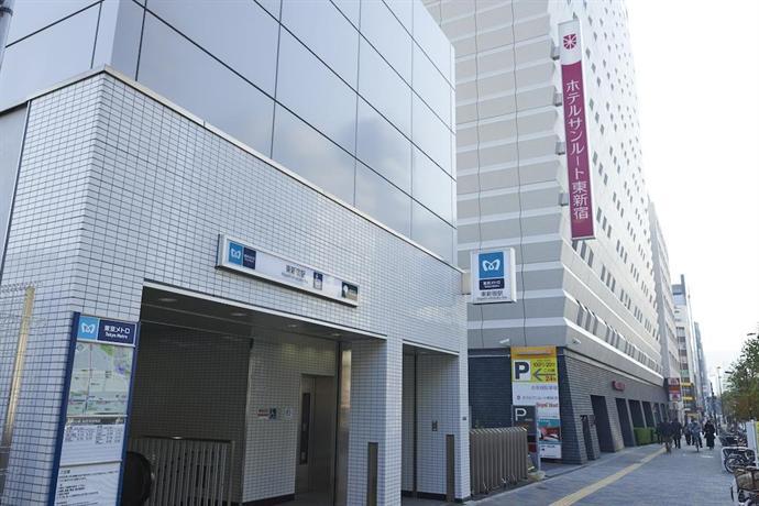 Hotel Sunroute Higashi-shinjuku  Tokyo