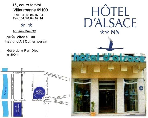 Hotel Alsace Lyon Villeurbanne