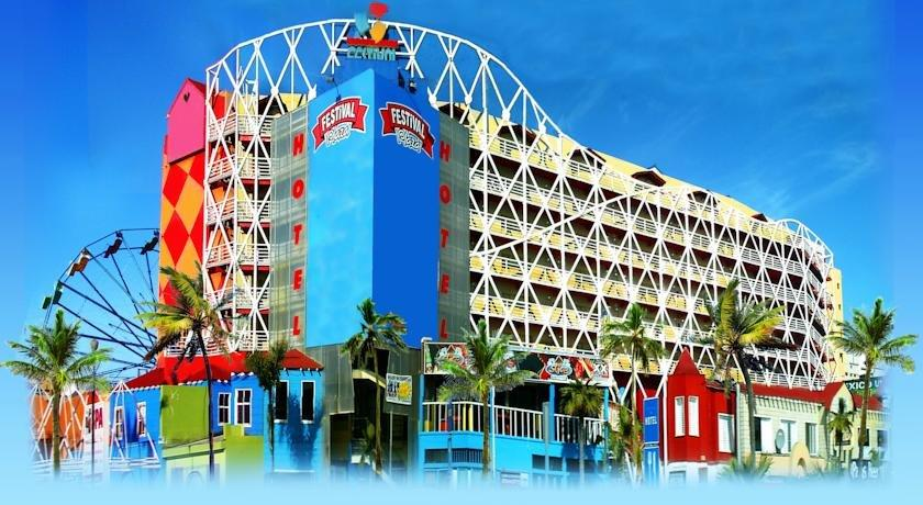 About Hotel Festival Plaza Playas Rosarito
