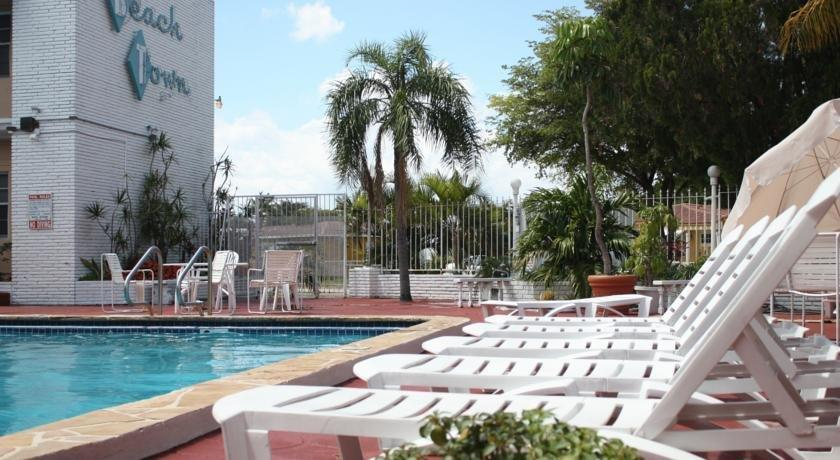 Town And Beach Motel Hollywood Florida
