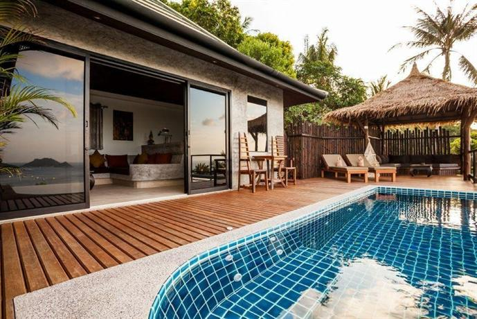 Koh tao heights pool villas ko tao compare deals for Koi pool villa koh tao