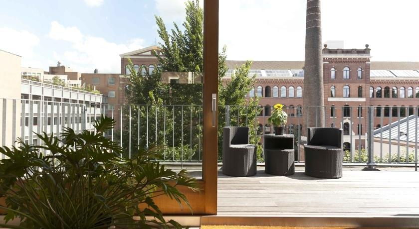 Starry night penthouse apartment city centre amsterdam for Appart hotel amsterdam centre ville