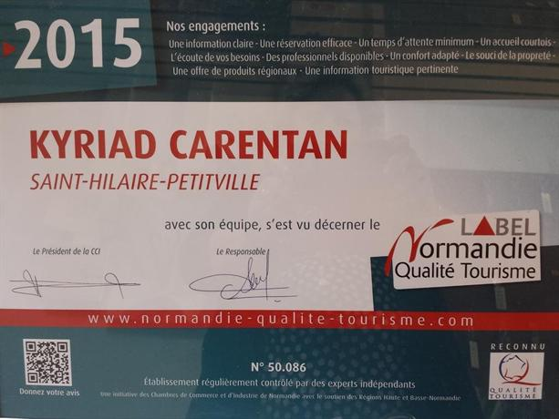 Hotel Restaurant Kyriad Carentan