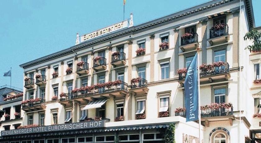 Hotel Steigenberger Europaischer Hof Baden Baden
