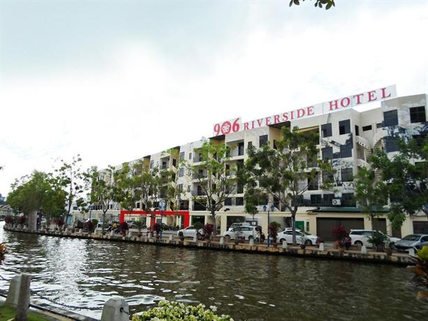 906 riverside hotel hotels malacca for Prix des hotels