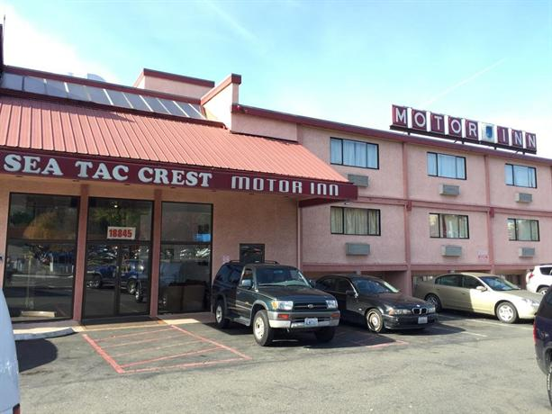 Seatac Crest Motor Inn Seattle Compare Deals