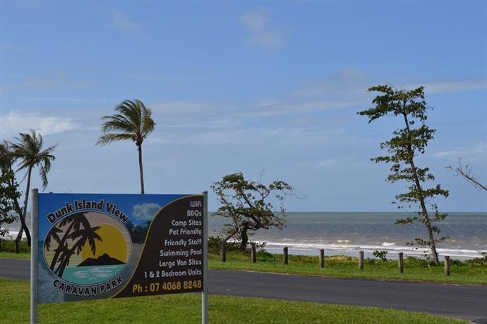 Dunk Island Restraunt: Dunk Island View Caravan Park, Mission Beach