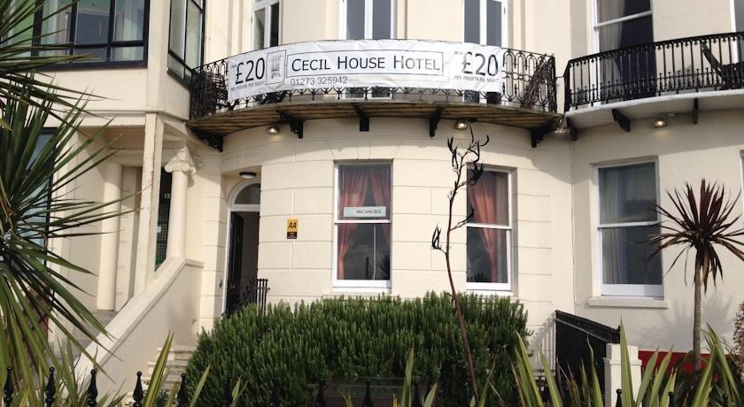 Cecil House Hotel Brighton Uk