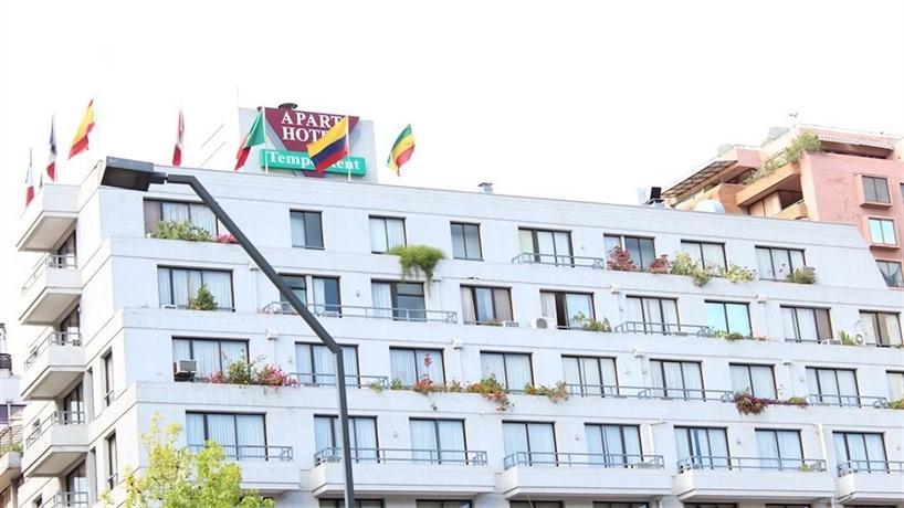 Tempo rent apart hotel santiago compare deals for Aparte hotel