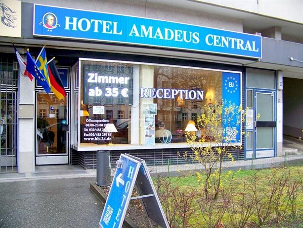 Hotel Amadeus Hohenzollerndamm Berlin