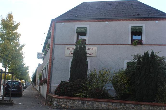 Hotel Restaurant La Fontaine Aubigny Sur Nere