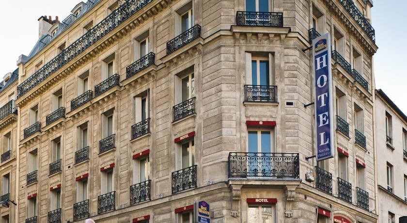 Best western nouvel orleans montparnasse paris compare for Ideal hotel montparnasse