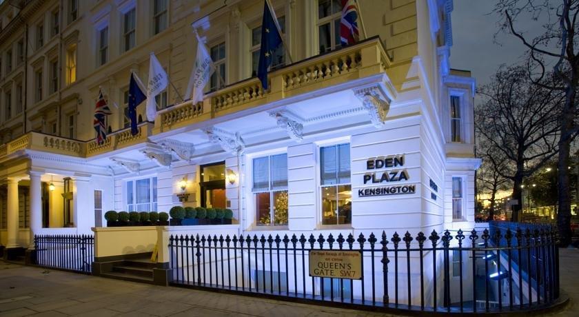 The Eden Plaza Hotel Kensington London