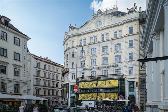 Pension neuer markt hotels vienne for Hotels vienne