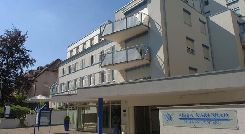 Hotel Villa Karlsbad Bad Mergentheim