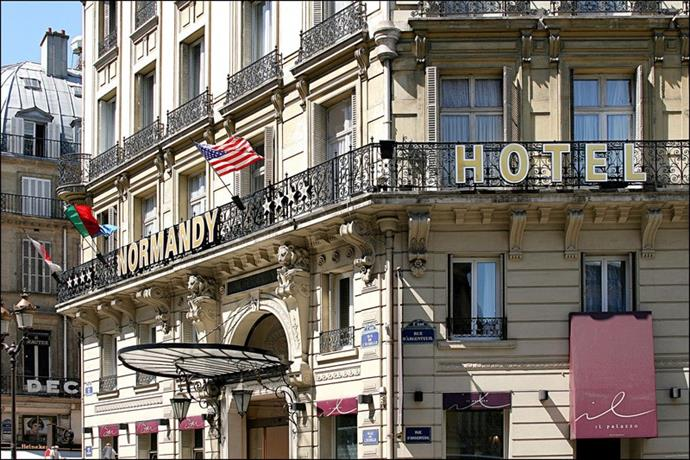 Normandy hotel paris compare deals for Deal hotel paris