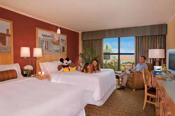 Disney World Hotel Room Sizes