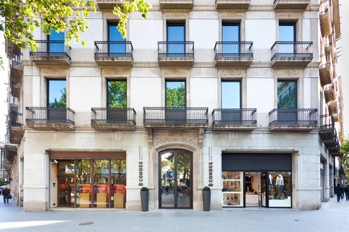 Condes de barcelona barcellona offerte in corso for Offerte hotel barcellona