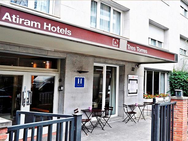 Tres torres atiram hotel barcellona offerte in corso for Offerte hotel barcellona