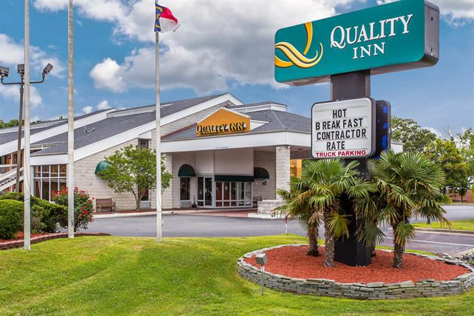 Quality Inn Greenville North Carolina