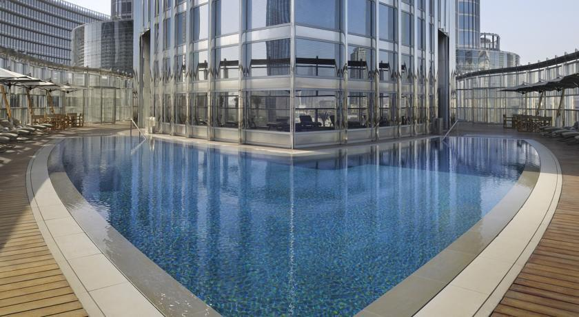 Armani hotel dubai compare deals for Burj khalifa swimming pool 76th floor