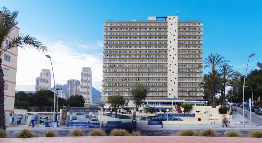 Poseidon playa hotel benidorm compare deals for Hotel poseidon playa