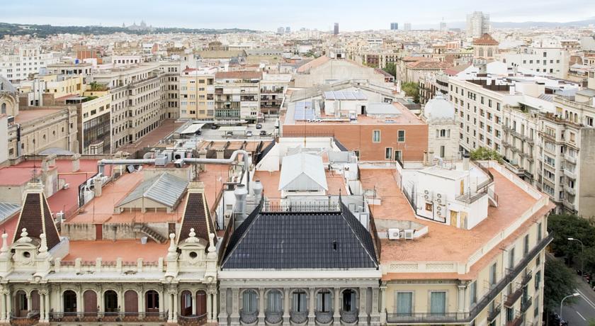 hotel praktik rambla barcelona compare deals. Black Bedroom Furniture Sets. Home Design Ideas