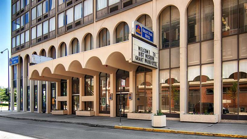 Best western grant park hotel chicago compare deals for Best hotel deals downtown chicago