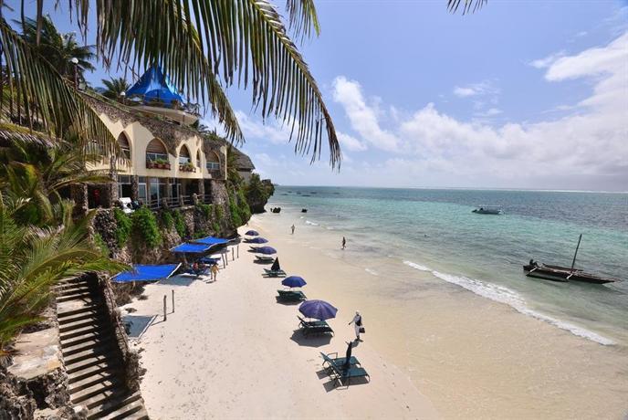 Bahari Beach Hotel Mombasa North Coast
