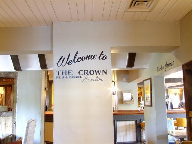 the crown pub dining rooms henlow compare deals