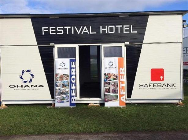 Ohana Capsule Hotel - Hungaroring Grand Prix