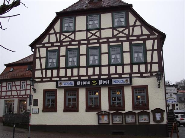 Hotel Restaurant Krone Post Gersfeld
