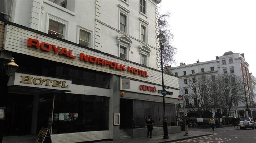 Royal Norfolk Hotel Paddington Reviews