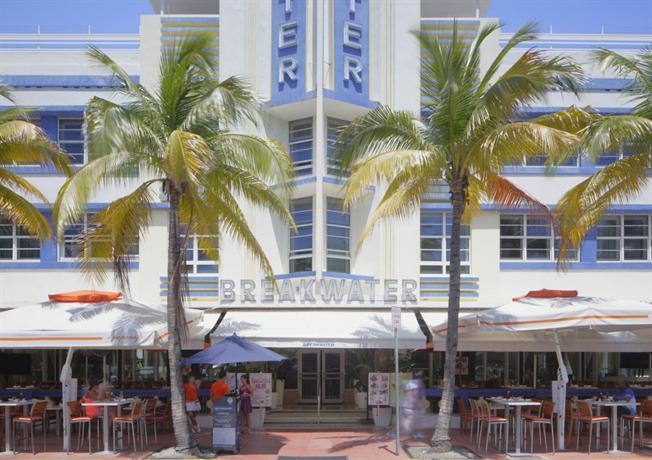 hotel breakwater south beach  miami beach