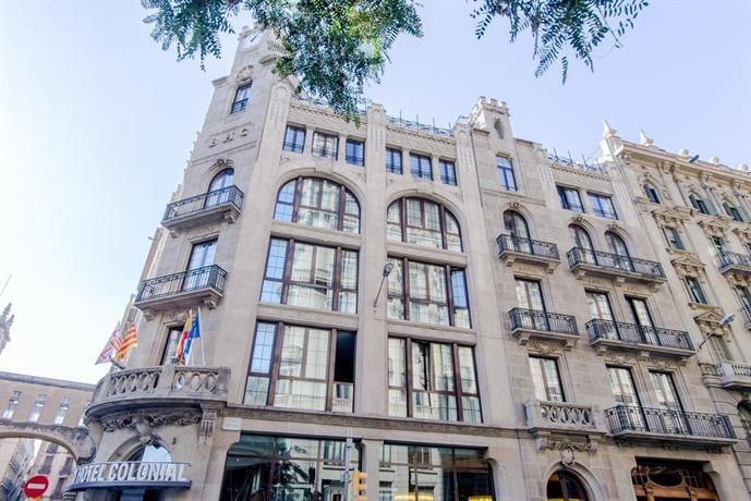 hotel colonial barcelona compare deals. Black Bedroom Furniture Sets. Home Design Ideas