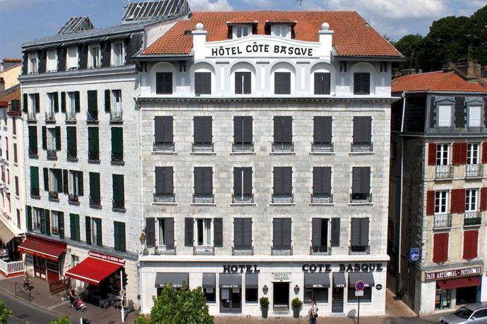 hotel cote basque bayonne offerte in corso. Black Bedroom Furniture Sets. Home Design Ideas