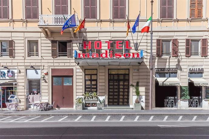 Hotel madison roma offerte in corso for Hotel madison milano