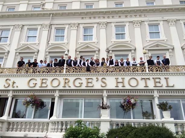 St Georges Hotel Llandudno Parking