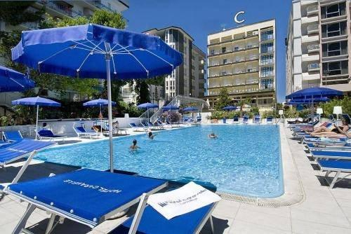 Caravelle hotel cattolica hotels cattolica for Caravelle piscine