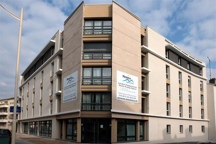 Nemea nancy appart 39 hotel compare deals for Hotels nancy