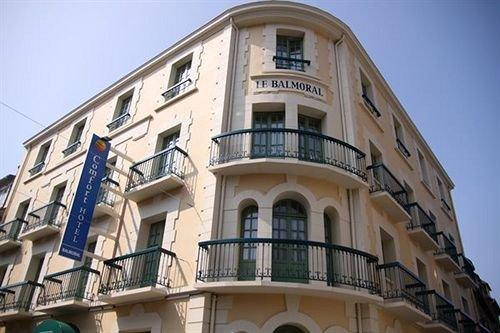 Comfort hotel dinard balmoral compare deals for Hotels dinard