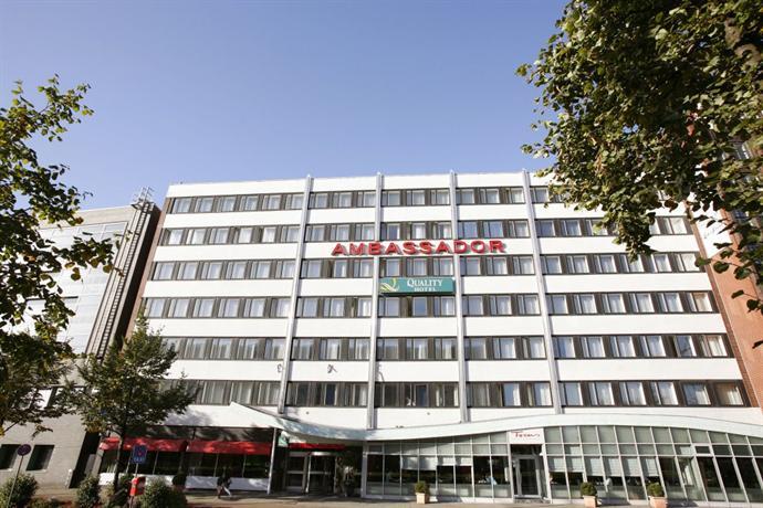 Quality Hotel Ambassador Hotels Hambourg