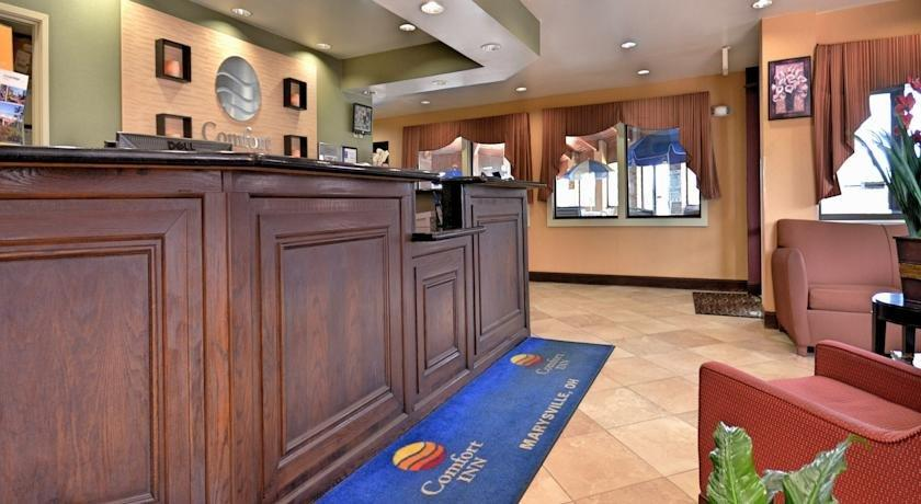 Comfort Inn Marysville Ohio