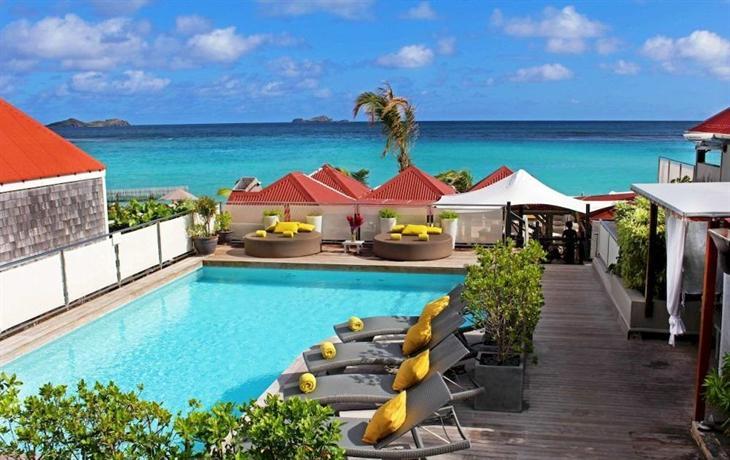 Best Island Beaches For Partying Mykonos St Barts: Tom Beach Hotel Saint Barthelemy, Gustavia