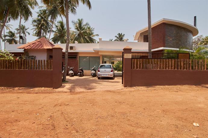 Sterne Hotel Am Arambol Beach Goa Indien