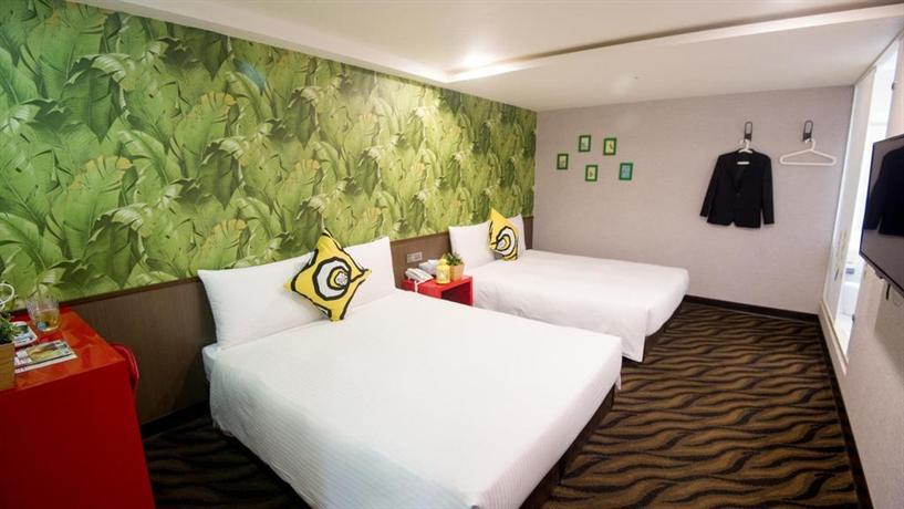 Design ximen hotel taipei city compare deals for Design ximen hotel review