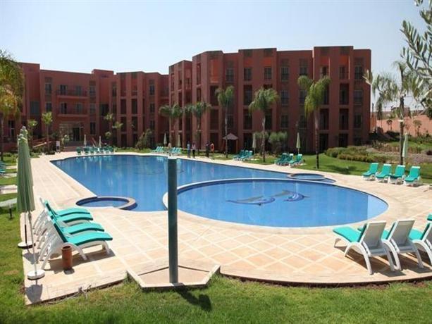 Palm appart club marrakesh marrakech compare deals for Corse appart hotel